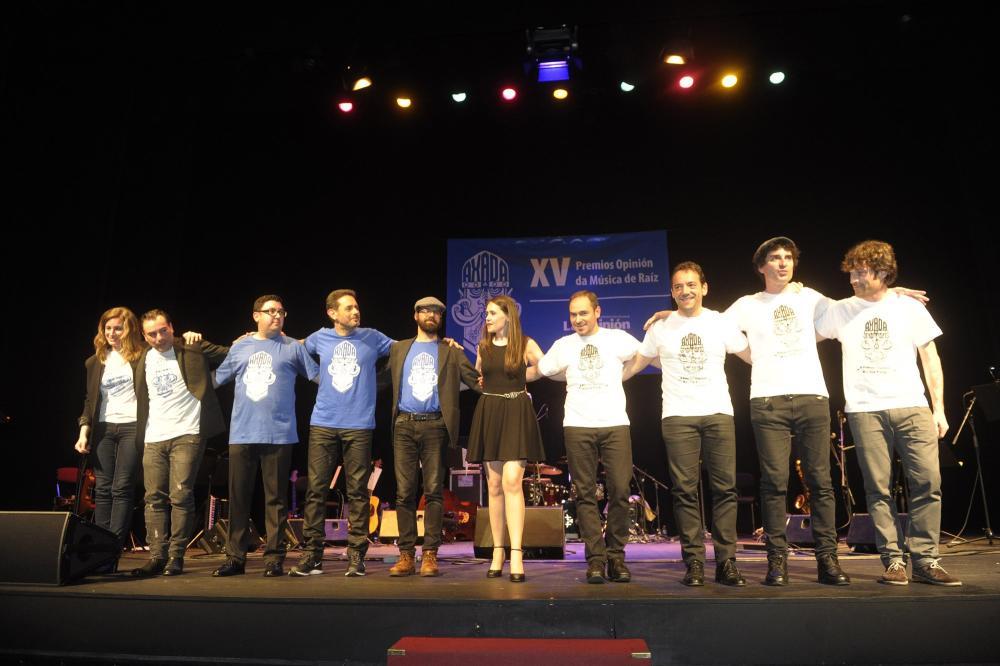 XV Premios Opinión da música de raíz