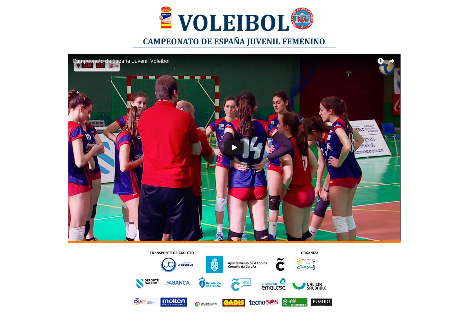 Campeonato de España Juvenil Voleibol