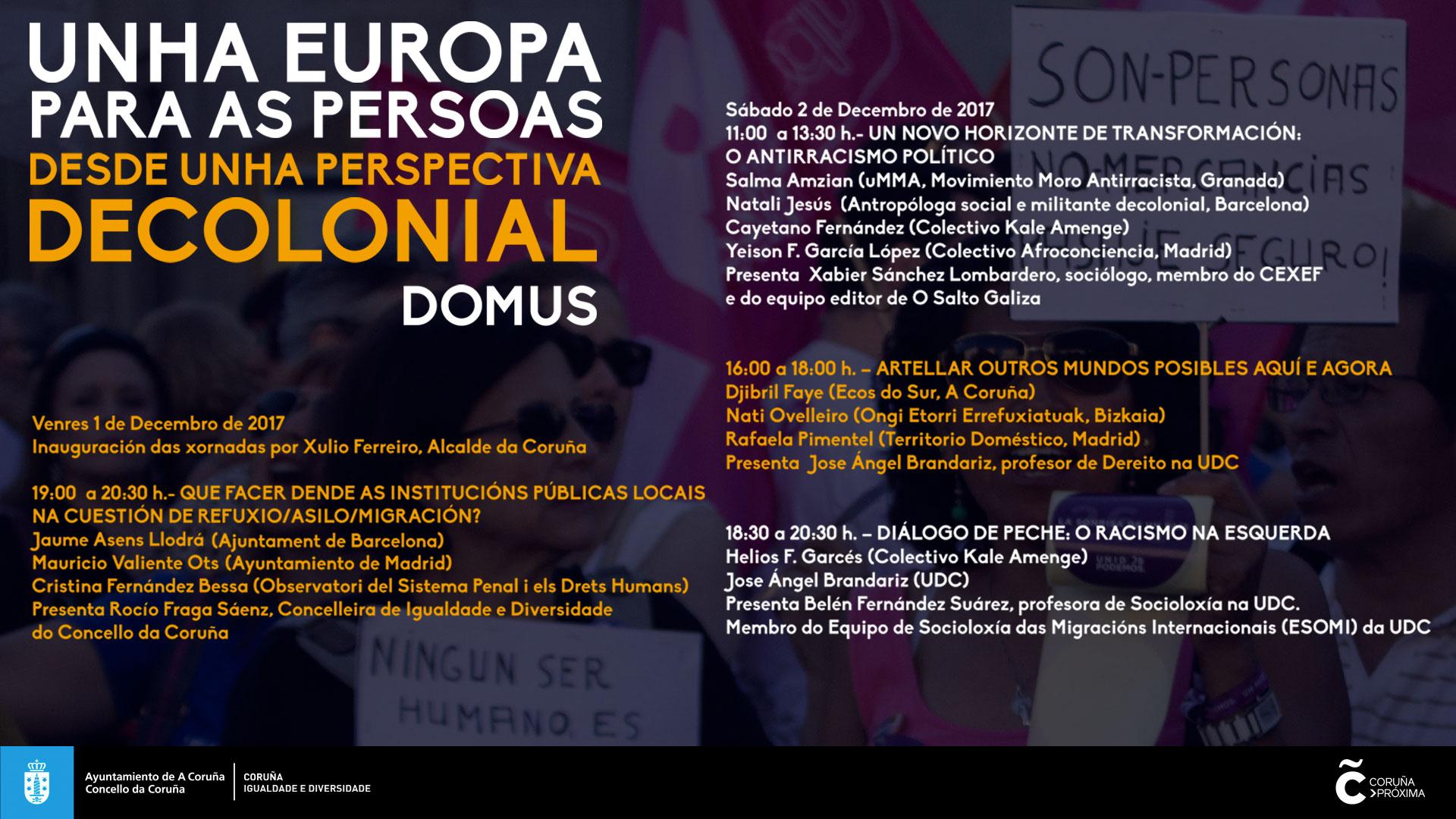 Una Europa para las personas desde una perspectiva decolonial