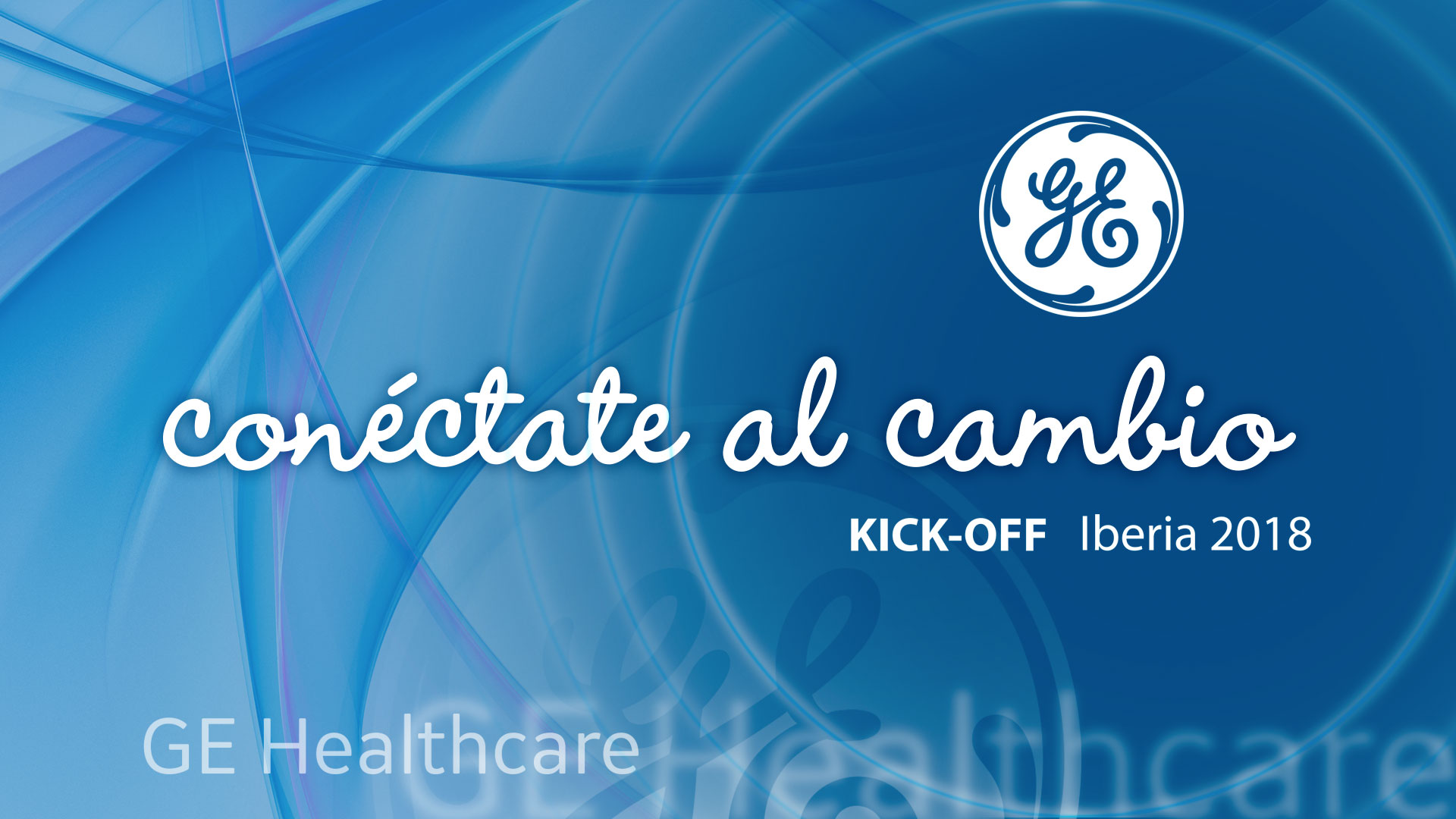 KickOff General Electric Healthcare 2018