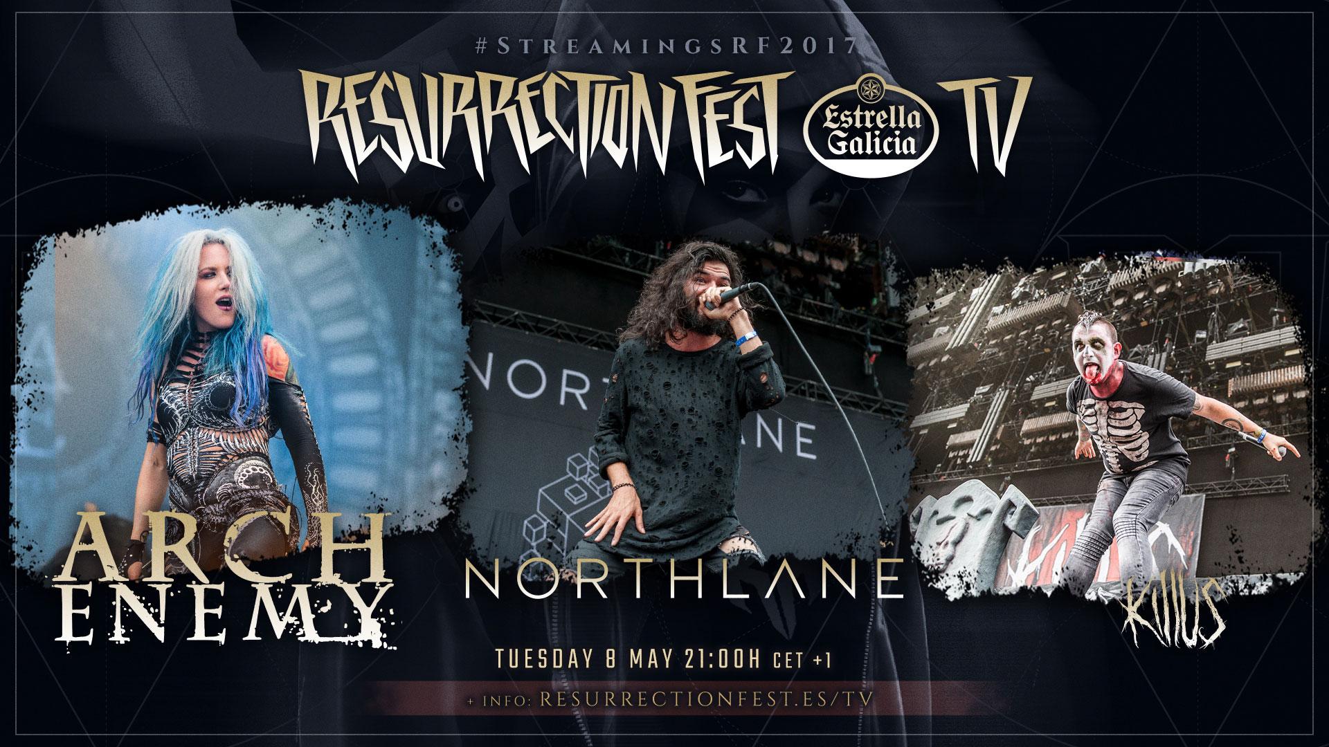 Emisión de conciertos del Resurrection Fest 2017 en diferido