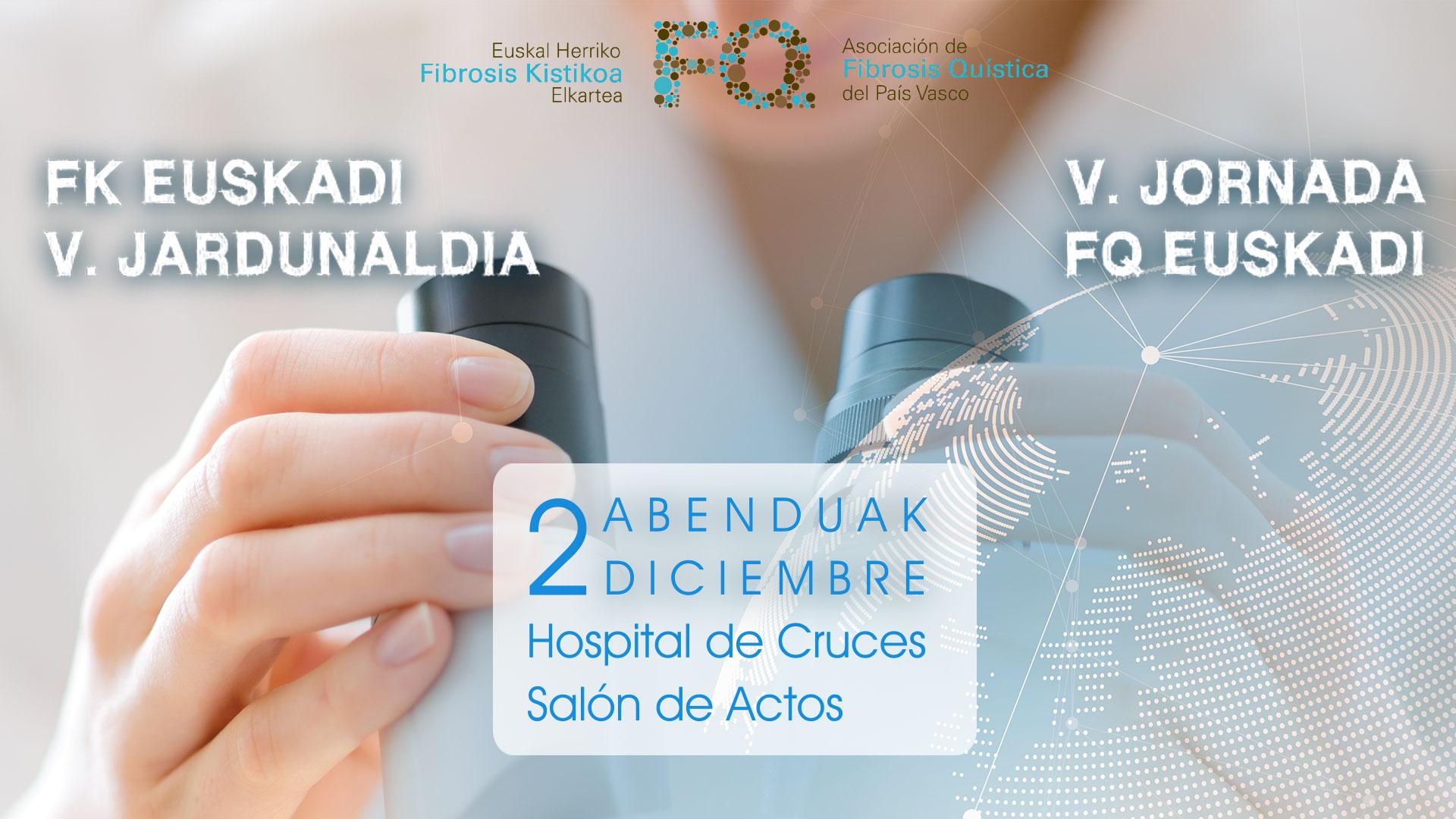 V jornada de Fibrosis Quística de Euskadi