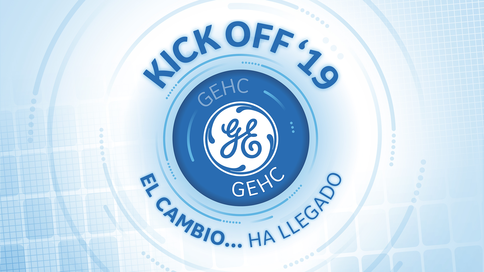 KickOff General Electric 2019