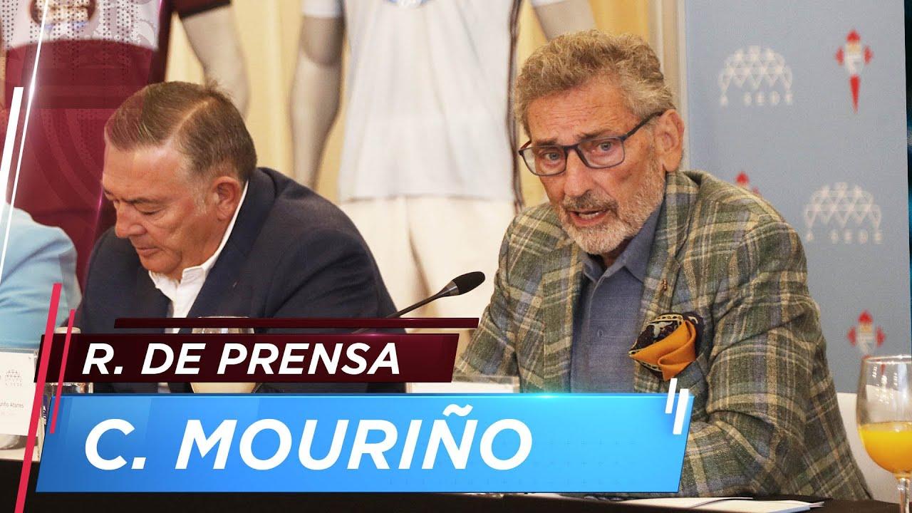 Rueda de prensa de Carlos Mouriño