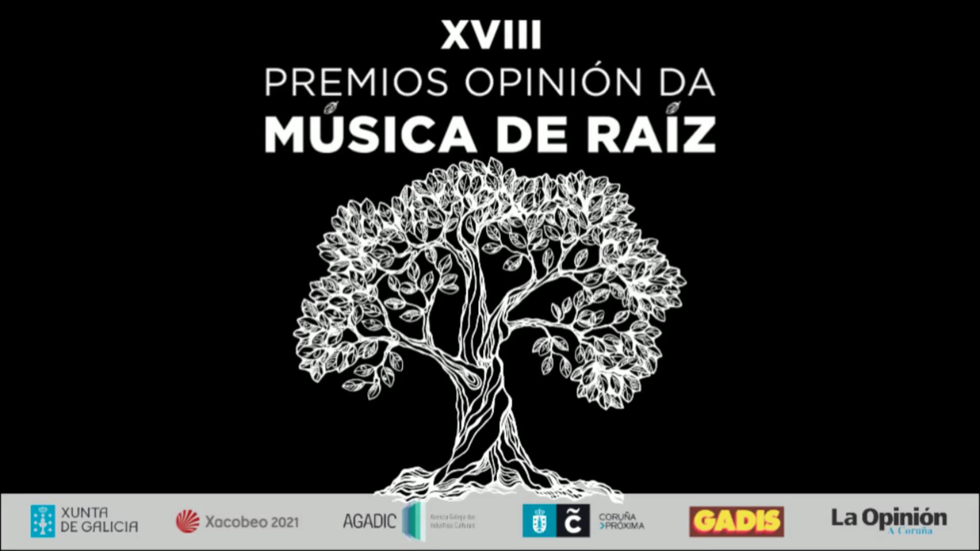 XVIII Premios Opinión da Música de Raíz