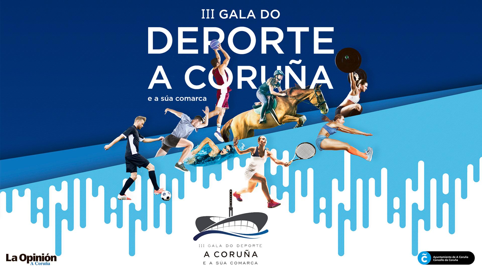 III Gala do Deporte da Coruña e a súa Comarca