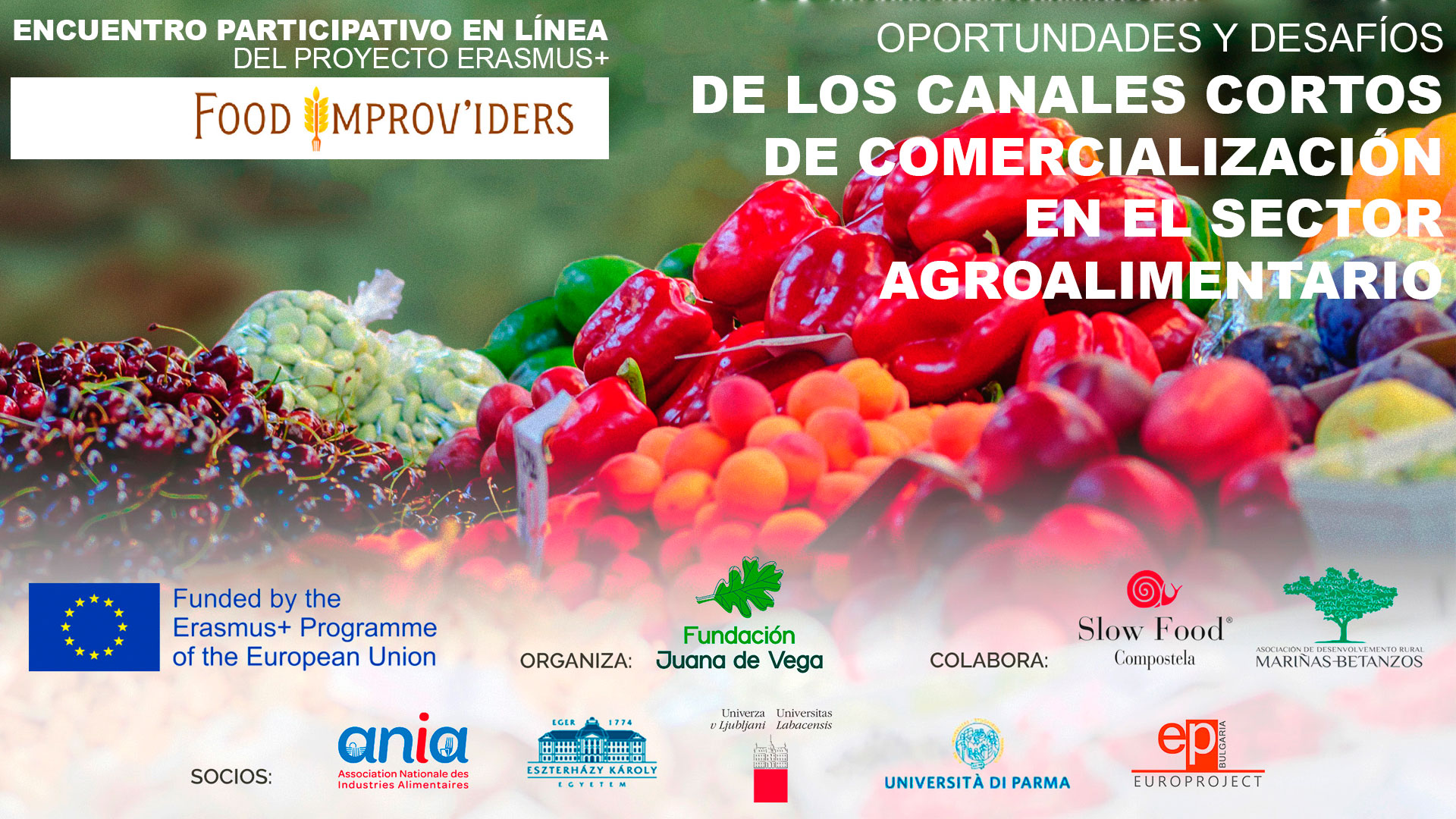Webinar Online: Food Improviders