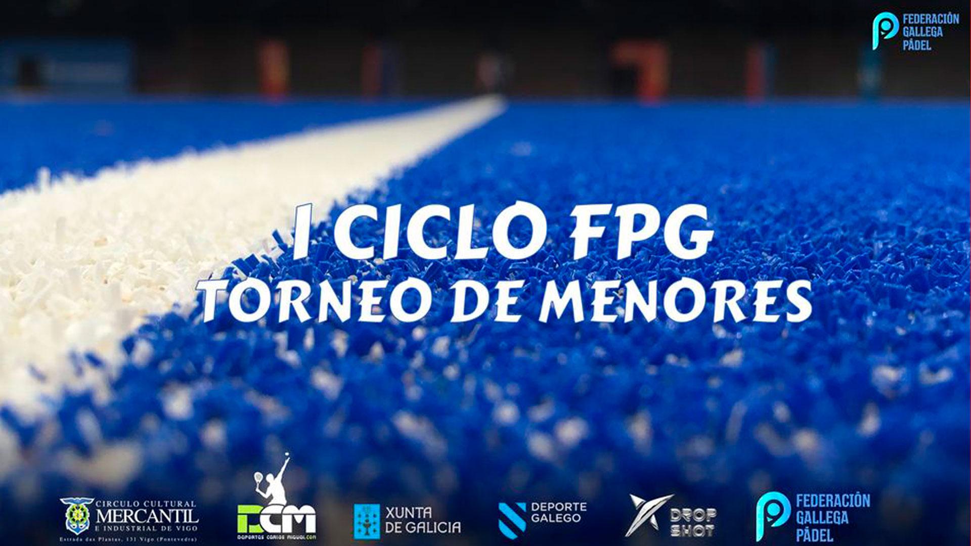 Torneo de Pádel – I Ciclo de Menores 2021